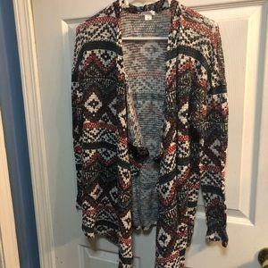 Super cute tribal pattern sweater!